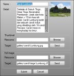 KlatenMapV2 Insert Update Gallery
